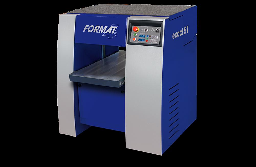Format 4 Exact 51 Dickenhobelmaschine