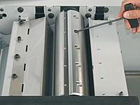 Hobelmesser Einstellung Felder Hobelmaschine