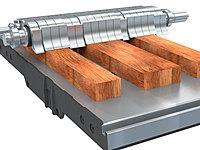 Gliederdruckbalken Format 4 Hobelmaschine
