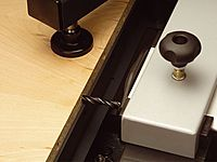 Langlochbohreinrichtung Hammer Hobelmaschine