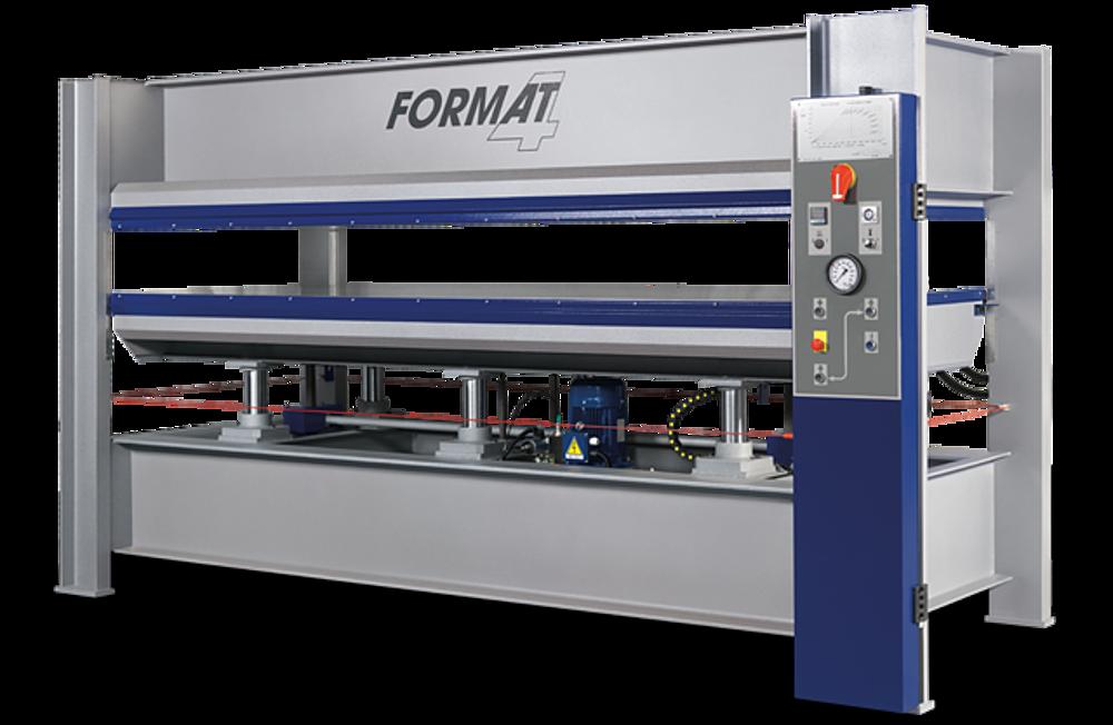 Furnierpresse Format 4 HVP Typ 1