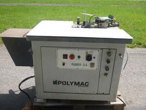 Stegumleimermaschine Rubber SA Polymac  1