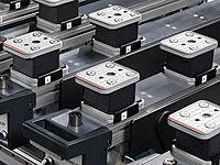 Werkst ckauflage und Vakuumsauger Positionieranzeige Format 4 CNC Bearbeitungszentrum
