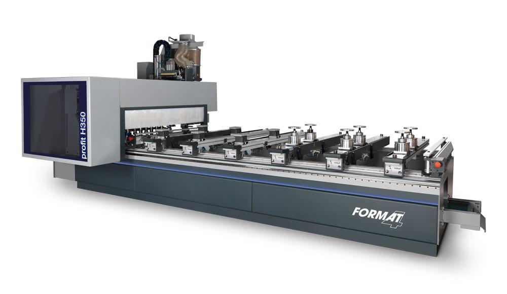 CNC Bearbeitungszentrum profit H350 Format 4 www.miller maschinen.de Felder