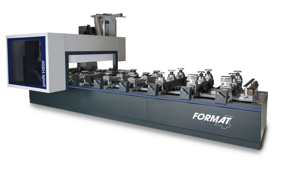 CNC Bearbeitungszentrum profit H500 Format 4 www.miller maschinen.de Felder
