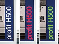 Beleuchtung profit H500 Format 4 CNC Bearbeitungszentrum www.miller maschinen.de Felder