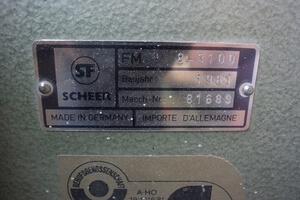 Furnierschneidmaschine FM 3100 Scheer  7