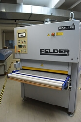 Breitbandschleifmaschine FW 1100 ESC Felder  1
