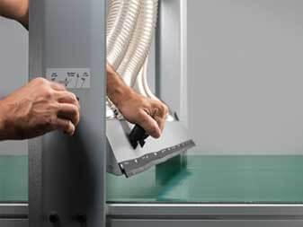 Format4 CNC H80 Obertischabsaugung