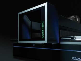 Format4 CNC H80 Statusanzeige