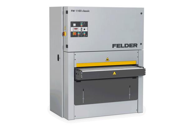 web breitbandschleifmaschine fw1102classic felder feldergroup