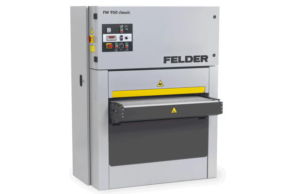 web breitbandschleifmaschine fw950classic felder feldergroup