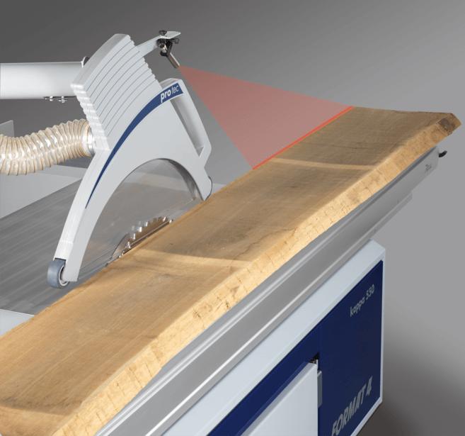 laser schnittfugenanzeige